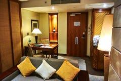 Взгляд сюиты в клубе имущества страны arabella роскошной гостиницы стоковые изображения rf