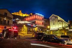 13 04 2018 взгляд Тбилиси, Georgia - Beautefull старого Тбилиси на Стоковое фото RF
