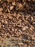 взгляд текстуры глины близкий красный стоковая фотография rf