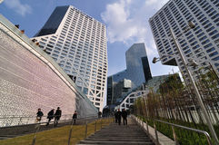 Взгляд торгового центра Чэнду города Raffles Стоковая Фотография RF