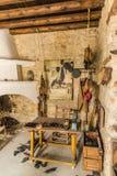 Взгляд традиционной деревни Lania в Кипре стоковое изображение rf