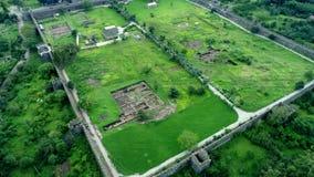 Взгляд трутня крепости Gonio около Батуми, Georgia видеоматериал
