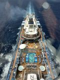 Взгляд туристического судна от Gandola на гимне морей стоковая фотография rf