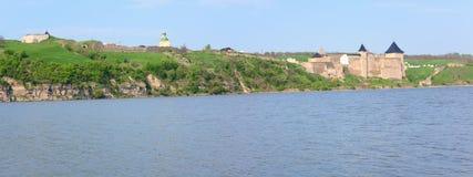 взгляд Украины весны khotyn крепости Стоковое фото RF