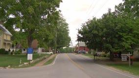 Взгляд улицы вилки Leipers - вилка Leipers, Теннесси - 18-ое июня 2019 сток-видео