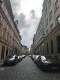 Взгляд улицы в Кракове стоковая фотография