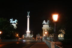 взгляд улицы героя квадратный Стоковая Фотография RF