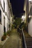 Взгляд улицы еврейского квартала в Сагунто Стоковое Изображение