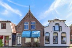 Взгляд улицы с типичными домами и архитектура в Burg вертепа, VI Стоковая Фотография RF