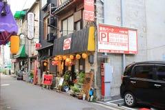 взгляд улицы Хиросимы стоковое изображение rf