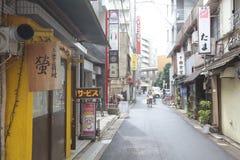 взгляд улицы Nerima стоковая фотография