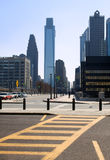 взгляд улицы philadelphia Стоковая Фотография RF