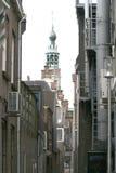 взгляд улицы Purmerend стоковая фотография rf
