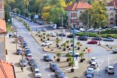 Взгляд улицы Timisoara Стоковая Фотография RF