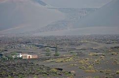 Взгляд фермы в Лансароте Стоковая Фотография RF