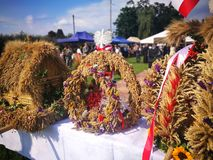 Взгляд фестиваля сбора художественный в ярких цветах стоковые изображения