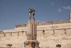 Взгляд фонтана сработанности Стоковое Фото