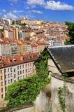 взгляд Франции lyon стоковая фотография