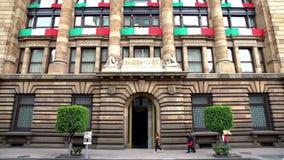 Взгляд центрального банка мексиканського здания Оно задача ` s обеспечить стабильность покупательной способности валюты акции видеоматериалы