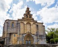 Взгляд центра Gernika, Басконий - Испании стоковое фото