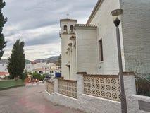 Взгляд церков в деревне подковы стоковое изображение