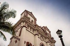 Взгляд церков в Колумбии стоковые фото