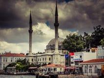 Взгляд церков Agia Софии стоковые фотографии rf