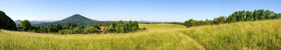 Взгляд чеха Швейцарии Стоковые Фотографии RF