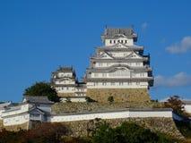 Взгляд чудесного замка Himeji в Японии стоковые фото