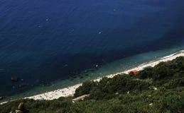 Взгляд Чёрного моря Стоковые Фото