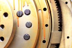 взгляд шестерен от механизма Стоковое Изображение