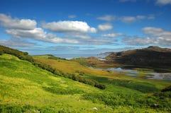 взгляд Шотландии kyle durness северный Стоковое фото RF
