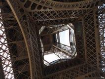 Взгляд Эйфелева башни нижний Стоковая Фотография