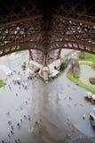 взгляд Эйфелевы башни Стоковое Фото