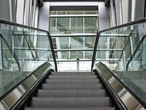 Взгляд эскалатора Стоковые Изображения