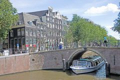 взгляд 15 amsterdam типичный Стоковая Фотография