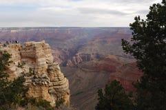 взгляд 7 каньонов грандиозный Стоковое Изображение RF