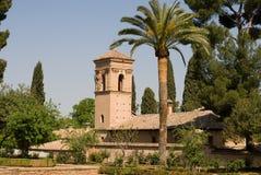 взгляд alhambra granada Стоковое фото RF