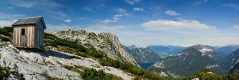 взгляд alps панорамный Стоковое Фото