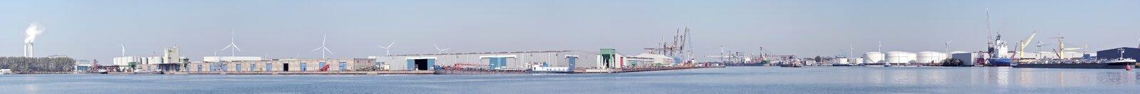 взгляд amsterdam промышленный нидерландский стоковое фото