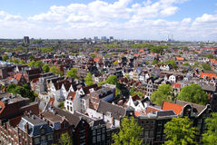взгляд amsterdam Стоковая Фотография RF
