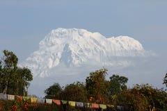 взгляд annapurna южный Стоковая Фотография