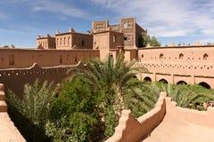 Взгляд beautifulKasbah Amridil, Марокко Стоковое фото RF