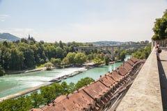 взгляд bern Швейцарии Стоковые Изображения