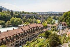 взгляд bern Швейцарии Стоковые Фото