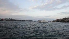 Взгляд bosphorus Стамбула акции видеоматериалы