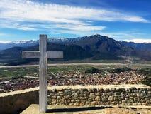 Взгляд calabaka креста Cristian стоковые фотографии rf