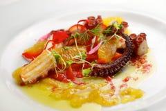 Взгляд ceviche осьминога Стоковые Изображения