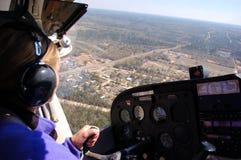 взгляд copilot s Стоковые Изображения RF