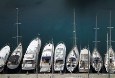 Взгляд COTE D'AZUR МОНАКО стоковые фотографии rf